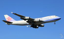 China Airlines cargo plane Stock Image
