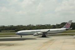 China Airlines - Taiwan Royaltyfria Foton
