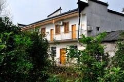 China-altes Haus Stockbild