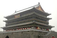 China ancient architecture Royalty Free Stock Images