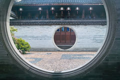 China ancient building stock image