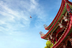 China ancient building local Stock Photo