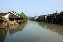 China ancient building in Wuzhen Royalty Free Stock Photos