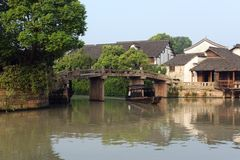 China ancient building in Wuzhen Royalty Free Stock Image