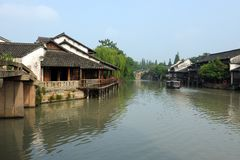China ancient building in Wuzhen Stock Photo