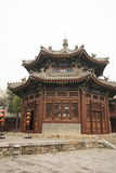 China ancient buildings. Asian China Beijing Zhengjue temple, ancient architecture Royalty Free Stock Photos