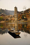 China the ancient city of phoenix. The ancient city of phoenix Royalty Free Stock Photography