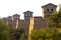China ancient city wall Royalty Free Stock Images