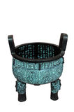 China ancient cooking vessel Royalty Free Stock Photo