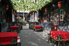 China ancient house. The ancient house in period of Ming and Qing, there are strong distinct Chinese characteristics Royalty Free Stock Photo