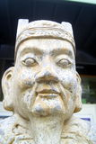 China ancient statue of a man, in shenzhen Stock Photos