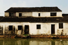 China. In ancient times. Shoot in Suzhou, China. In ancient times, Suzhou is a traditonal water village Royalty Free Stock Photo