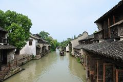 China ancient village Royalty Free Stock Photos