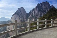 China Anhui Huangshan Lotus Peak Nature Foto de archivo