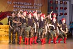 China - aniversário de Indpendence Imagens de Stock Royalty Free