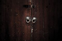 China antique style door Royalty Free Stock Photo