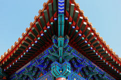 China architecture detail Royalty Free Stock Images