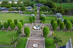 China architecture with garden Stock Images