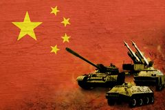 China army, military forces Stock Images
