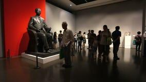 China Art Museum in Shanghai, China. stock video