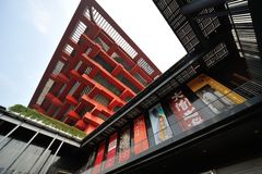 China arts museum,shanghai Royalty Free Stock Images