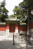 China Asia, Beijing, Beihai Park, the ancient architecture, the gatehouse, Stock Photography