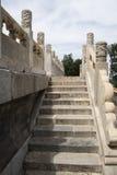 China Asia, Beijing, Beihai Park, the White Pagoda Royalty Free Stock Images