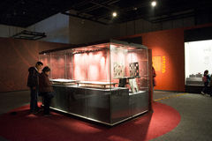 China Asia, Beijing, the capital museum, the ancient Chinese, Chu Culture Exhibition Stock Images