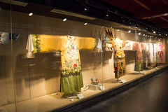 China Asia, Beijing, the capital museum, opera costumes Stock Image