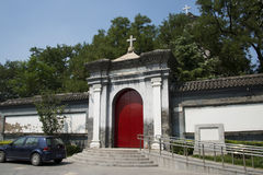 China and Asia, Beijing, China's oldest Catholic Church, southern Beijing Stock Photos