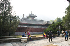 China, Asia, Beijing, the Fragrant Hill Park �the Temple of the Azure Clouds Stock Photo