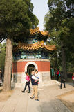 China, Asia, Beijing, the Fragrant Hill Park �the Temple of the Azure Clouds Stock Photos
