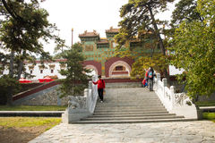 China, Asia, Beijing, the Fragrant Hill Park Royalty Free Stock Photos
