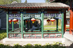 China, Asia, Beijing, the Grand View Garden, antique buildings Royalty Free Stock Images