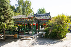 China, Asia, Beijing, the Grand View Garden, antique buildings Royalty Free Stock Photos