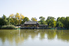 China, Asia, Beijing, the Grand View Garden, antique buildings Stock Image