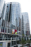 China and Asia, Beijing, Sanlitun SOHO, modern buildings, commercial district Stock Photography