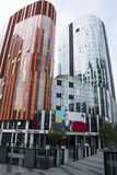 China and Asia, Beijing, Sanlitun SOHO, modern buildings, commercial district Stock Images