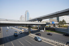China Asia, Beijing, the Xizhimen overpass Stock Photography