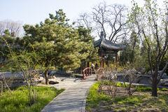 China Asia, Beijing, Xuanwu Garden, Antique Buildings Royalty Free Stock Images