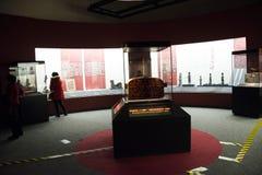 China Asia, Pekín, el museo capital, el chino antiguo, Chu Culture Exhibition Imagen de archivo