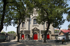 China and Asia, southern Beijing, the Catholic church, Royalty Free Stock Photos