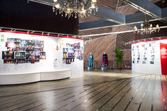 China Asien, Peking, das nationale großartige Theater, Ausstellungshalle, Ausstellung Lizenzfreies Stockbild