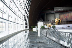 China Asien, Peking, das nationale großartige Theater, Innen Lizenzfreies Stockfoto
