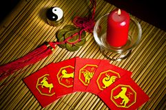 China astrology Stock Image