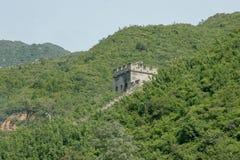 China - Augustus 24, 2008: De Grote Muur van China royalty-vrije stock fotografie