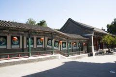 China, Azië, Peking, de Grote Meningstuin, antieke gebouwen Stock Afbeelding