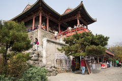 China, Azië, Peking, het Geurige Heuvelpark Royalty-vrije Stock Afbeeldingen