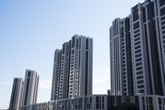 China, Azië, Peking, Wangjing-woonwijk Stock Afbeeldingen