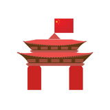 China background abstract illustration Stock Photos